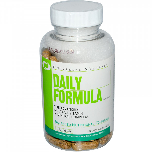 Daily Formula, Multi Vitamin& Mineral Complex, 100 Tablets فايتمين