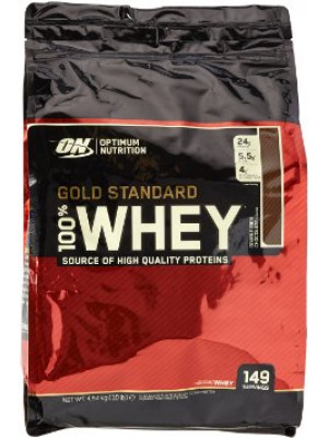Whey, Gold Standard, 10 lbs 4,54 kg  واي بروتين