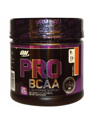 Pro BCAA  % 26 Glutamine, Fruit Punch, 13.7 oz 390 g