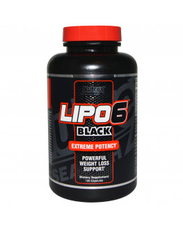 Lipo6 Black Weight Loss, 120 Capsules ليبو 6 بلاك