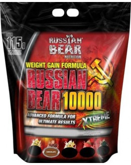 الدب الروسي - روشيان بير جينر - للتضخيم العضلي - 15 باوند  - Russian Bear gainer 15 LBS