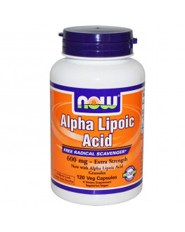 حمض الفا ليبويك - مضاد الأكسدة - Alpha lipoic acid 600 mg - 120 cap