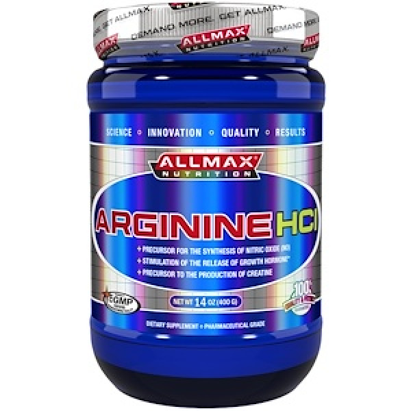 ALLMAX Nutrition, Arginine HCI Maximum -400 g