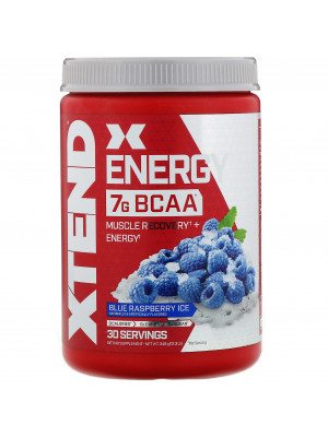 Xtend Energy BCAA  348 g  اكستاند انريجي  30  سيرفينج