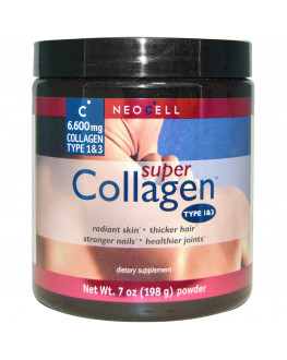 Collagen, Type 1& 3, 7 oz (198 g) Powder